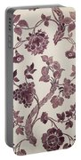 Design For A Silk Damask Portable Battery Charger