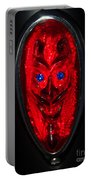 Devil With Sapphire Eyes Portable Battery Charger