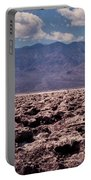Devil's Golf Course At Death Valley Portable Battery Charger