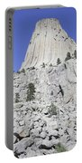 Devils Tower National Monument, Wyoming Portable Battery Charger