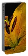 Dew On The Daylily Portable Battery Charger