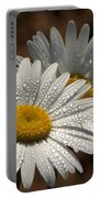 Dew Tell Oxeye Daisy Wildflowers Portable Battery Charger