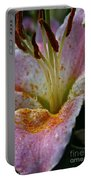 Dewey Daylily Portable Battery Charger