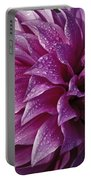 Dewy Dahlia Portable Battery Charger