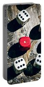 Dice Portable Battery Charger by Joana Kruse