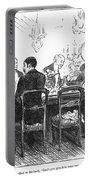 Dinner Party, 1880 Portable Battery Charger