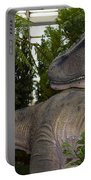 Dinosaur Inside The Conservatory Portable Battery Charger