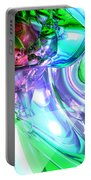 Disorderly Color Abstract Portable Battery Charger