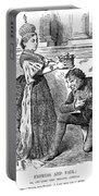 Disraeli Cartoon, 1876 Portable Battery Charger