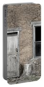 Distressed Facade Portable Battery Charger