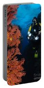 Diver And Sea Fans, Fiji Portable Battery Charger