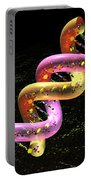 Dna Fat Coil Portable Battery Charger by Russell Kightley