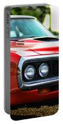 Dodge Super Bee Classic Red Portable Battery Charger by Paul Ward