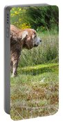 Dog Making A Pee Portable Battery Charger