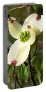 Dogwood Blossome Portable Battery Charger