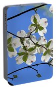 Dogwood Blossoms 2 Portable Battery Charger