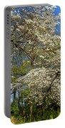 Dogwood Grove Portable Battery Charger by Debra and Dave Vanderlaan