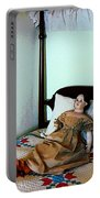 Doll On Four Poster Bed Portable Battery Charger