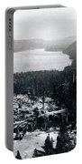 Donner Lake - California - C 1865 Portable Battery Charger