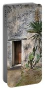 Door In Spanish Mission Building Portable Battery Charger