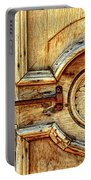 Door Study Taos New Mexico Portable Battery Charger