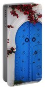 Doorway In Tunisia 1 Portable Battery Charger