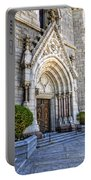 Doorway Sacred Heart Cathedral Portable Battery Charger