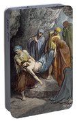 Burial Of Jesus Portable Battery Charger