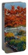 Dotti's Garden Autumn Portable Battery Charger