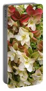 Double Hydrangeas  Portable Battery Charger