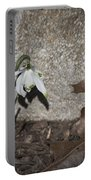Double Snowdrops Portable Battery Charger