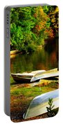 Down By The Riverside Portable Battery Charger by Karen Wiles