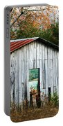 Down On The Farm - Old Shed Portable Battery Charger