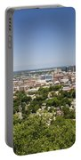 Downtown Birmingham Alabama On A Clear Day Portable Battery Charger