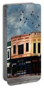 Downtown Bryan Texas Panorama 5 To 1 Portable Battery Charger
