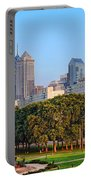 Downtown Philadelphia Skyline Portable Battery Charger