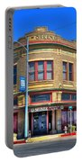 Downtown Shiner Texas Portable Battery Charger