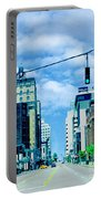 Downtown Union Ave Memphis Tn Portable Battery Charger