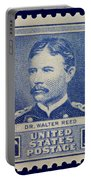 Dr Walter Reed Postage Stamp Portable Battery Charger