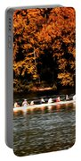 Dragon Boat On The Schuylkill Portable Battery Charger