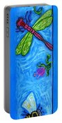 Dragonfly And Bee Portable Battery Charger