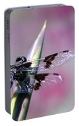 Dragonfly Bokeh Portable Battery Charger