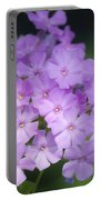Dreamy Lavender Phlox Portable Battery Charger
