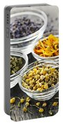 Dried Medicinal Herbs Portable Battery Charger