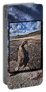 Driftwood Triptych Portable Battery Charger