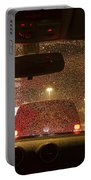 Driving A Car At Night Portable Battery Charger