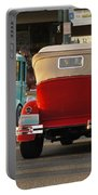 Driving Off Into History Portable Battery Charger