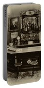 Drugstore Soda Fountain - New Orleans Portable Battery Charger