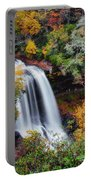 Dry Falls Or Upper Cullasaja Falls Portable Battery Charger