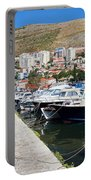 Dubrovnik Cityscape And Harbor Portable Battery Charger